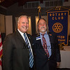 Geoffrey Merrill and David Longo, The Rotary Club of Hampton presents the 2019 Distinguished Citizen of the Year to Michael McMahon on Thursday 11-14-2019 @ The Galley Hatch, Hampton NH.  Matt Parker Photos