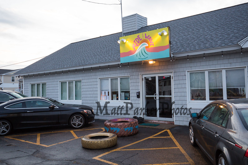 """Ride The Wave"" Fitness Studio on Tuesday 11-5-2019, Ocean Blvd. Seabrook Beach, NH.  Matt Parker Photos"