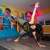 """Co-owner of """"Ride The Wave"""" Fitness Melinda Fuller leads a class at her Studio on Tuesday 11-5-2019 at Ocean Blvd. Seabrook Beach, NH.  [Matt Parker/Seacoastonline]"""