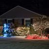 Christmas Lights on display in Hampton, NH on Wednesday 12-18-2019.  Matt Parker Photos