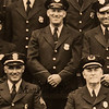 """Old Station photo with Wayne Vetter's father Charles F. Vetter, celebrating 5 generations of Vetter, Linchey police law enforcement on Monday 5-13-2019 @ Hampton, NH.  """"Philip's photo"""", [Matt Parker/Seacoastonline]"""