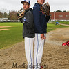 Winnacunnet Baseball pitchers #33 Brady Annis and #30 Ben Allen posing for photos on Monday 5-13-2019 @ WHS.  Matt Parker Photos