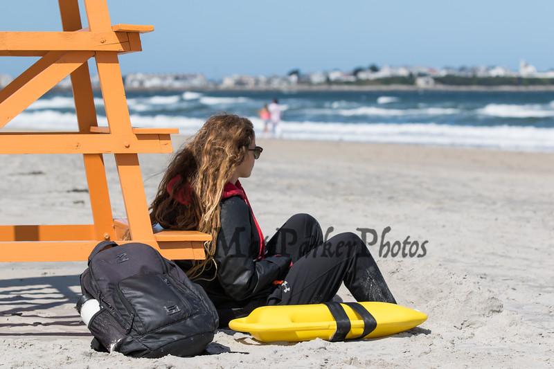 Hampton Beach on a windy and sunny Sunday 8-25-2019, Hampton Beach, NH.  Matt Parker Photos