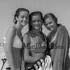(L to R) Sisters Daniela and Deanna Dinitto with their friend Brooke Brown pose for a photo on a cool, windy and sunny Sunday 8-25-2019, Hampton Beach, NH.  Matt Parker Photos