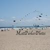 Kites flying at the beach on a cool, windy and sunny Sunday 8-25-2019, Hampton Beach, NH.  [Matt Parker/Seacoastonline]
