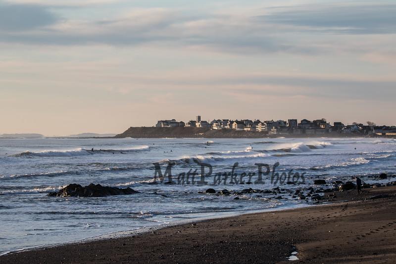 "Hampton's North Beach, Atlantic Ocean and, ""The Wall"" on New Years Day 1-1-2020.  Matt Parker Photos"