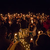 A candlelight Vigil was held on Tuesday January 14th for 20 year old Tommy Greene of Seabrook NH at Veterans Memorial Park by family, friends, and supporters in memory of Tommy who was tragically killed in a automobile accident on Monday.  1-14-2020.  Matt Parker Photos
