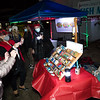The Seabrook NH Rocks show off some of the groups newest creations at the Yankee Fishermen's Cooperative, 2nd Annual Lobster trap Tree Lighting and visit by santa on Sunday 12-13-2020 @ Seabrook Beach, NH.  Matt Parker Photos