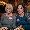 Bonnie Cote and Liz Higgins of the Old Salt Restaurant at the North Hampton Business Association Annual Meeting, Tuesday, February 4, 2020 at the Barley House Restaurant, North Hampton, NH.  Matt Parker Photos
