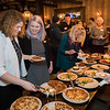 Food buffet at the North Hampton Business Association Annual Meeting, Tuesday, February 4, 2020 at the Barley House Restaurant, North Hampton, NH.  Matt Parker Photos