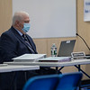 Town Manager James Sullivan.  The Town of Hampton holds it's 1st deliberative session of the 2021 Annual Town Meeting on Saturday January 30th at Hampton Academy, Hampton NH.  Matt Parker Photos