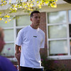 """The town of New Castle NH dedicates the """"Duncan Robinson Court"""" to Maude H. Trefethen Elementary School alumni (1999-2006) Duncan Robinson, current NBA player for the Miami Heat, on Thursday August 26th, 2021.  Matt Parker Photos"""