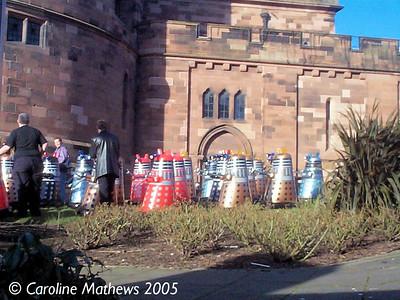 Daleks heading for Citadel