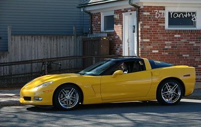 Corvette. Marblehead, Massachusetts