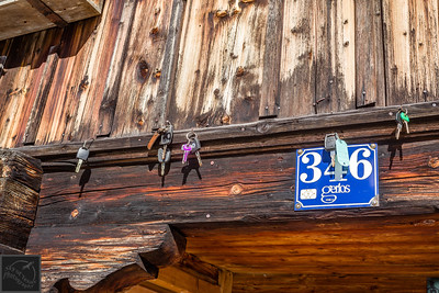 Forgotten car keys left behind at Proeller Alm restaurant in Austria.