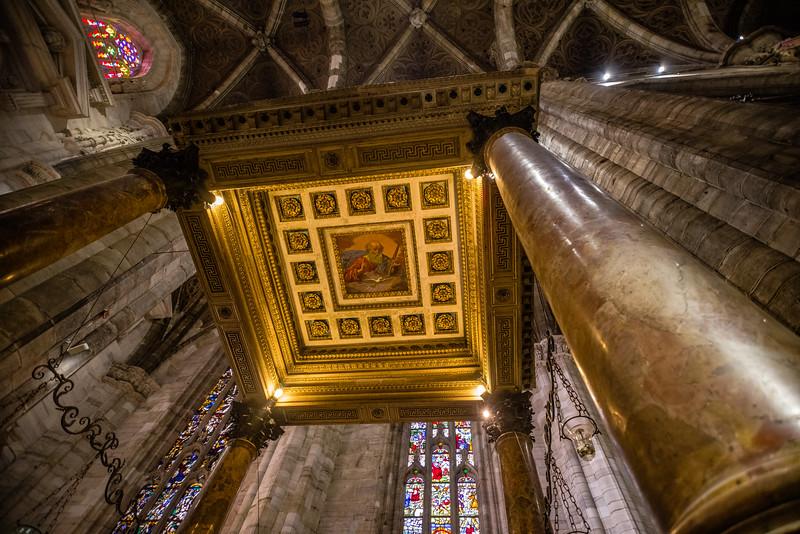 Baptistry of the Duomo di Milano.