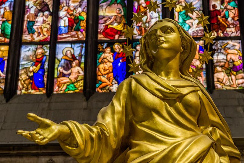 The Golden Madonna.