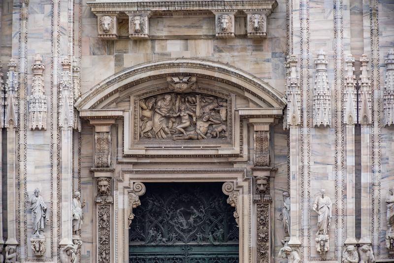 The magnificent Gothic Cathedral, Duomo di Milano.