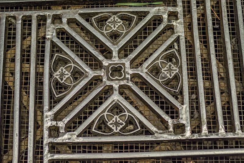 Floor grates inside the Duomo di Milano.