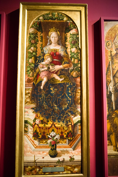 Madonna of the Candeletta; Carlo Crevelli.