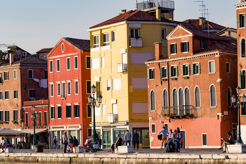Venice craves soft sunlight to show of it's colors.