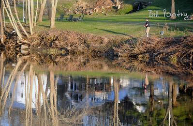 Ottauquechee River, Quechee Village Green, Vermont