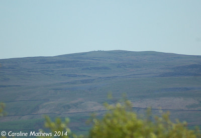 Nine Standards Rigg from Fox Tower, 14th May 2014