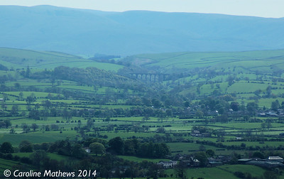 Smardale Viaduct from Fox Tower, 14th May 2014