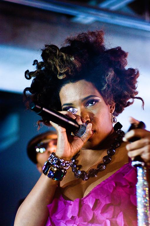 Macy Gray; Perez Hilton SXSW Party 2010.<br /> (Pentax K20D, DFA 100mm Macro lens.)