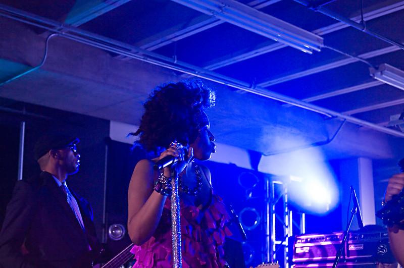 Macy Gray at Perez  Hilton SXSW 2010 Party.