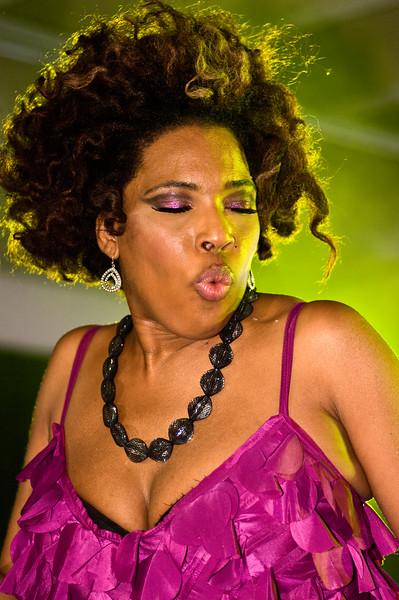 Macy Gray; Perez Hilton SXSW Party 2010.<br /> (Pentax K20D, DFA 100mm Macro lens)