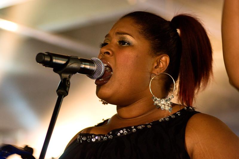 Back Up Singer for Macy Gray; Perez Hilton SXSW Party 2010.<br /> (Pentax K20D, DFA 100mm lens)