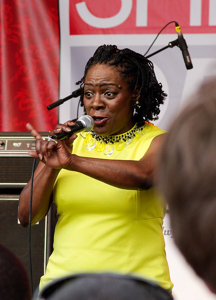 Sharon Jones at SXSW 2010.