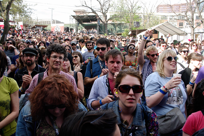 SXSW Attendees.