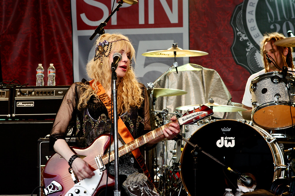 Courtney Love; SXSW 2010.<br /> (Pentax K20D, DA 70mm lens)