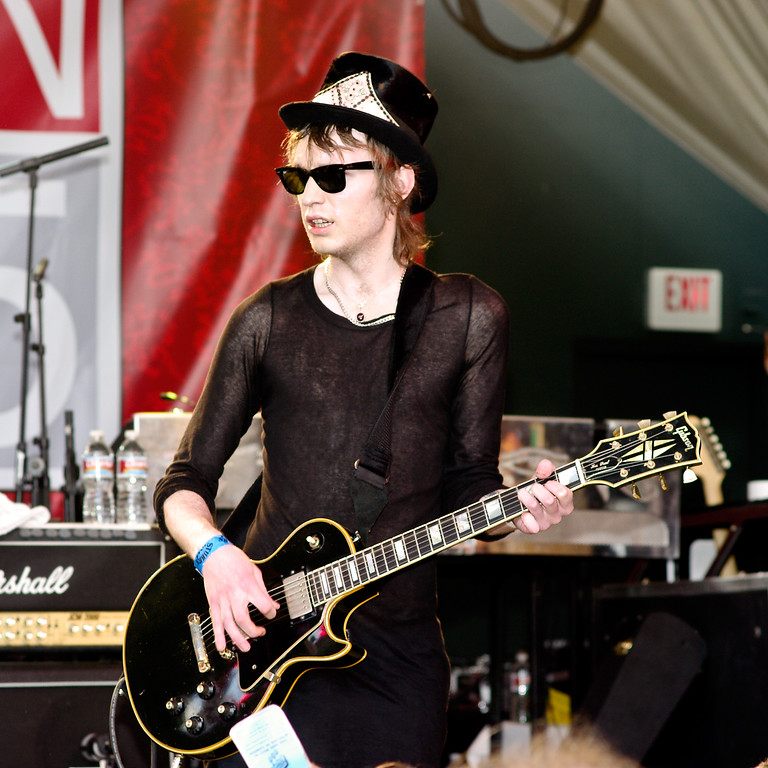 Member of Hole, Courtney Love's Band; SXSW 2010.<br /> (Pentax K20D, DA 70mm lens)