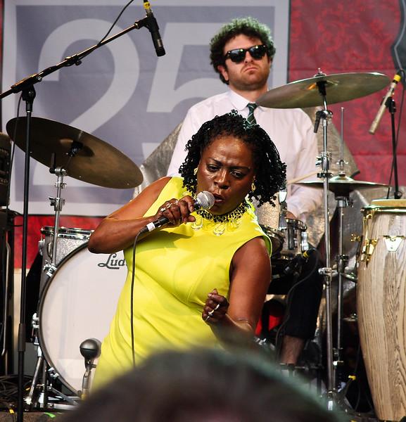 Sharon Jones and the Dap Kings at SXSW 2010
