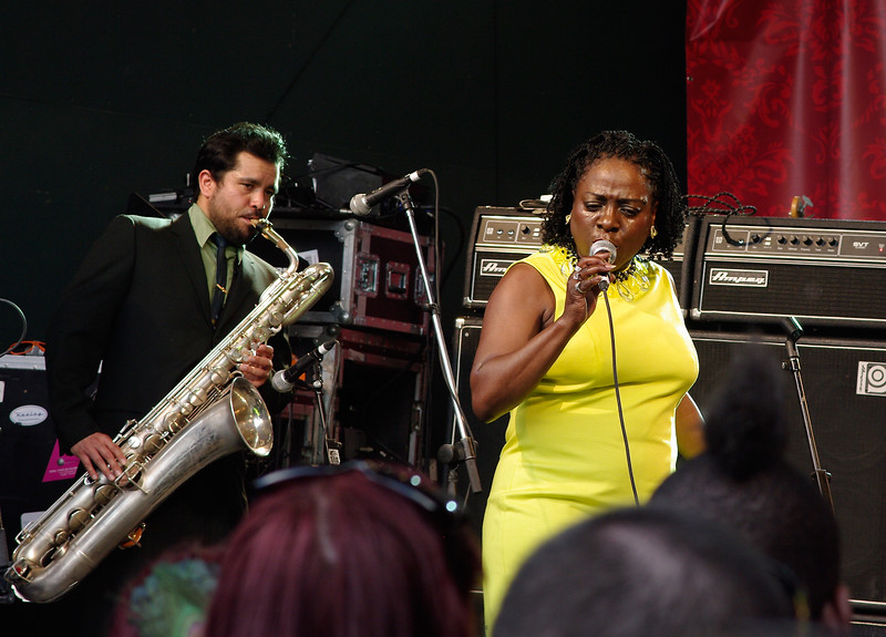 Sharon Jones and the Dap Kings at SXSW 2010.