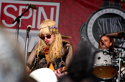 Courtney Love with Hole; SXSW 2010. (Pentax K20D, DA 70mm lens)