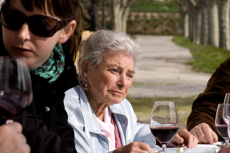 Lulu Peyraud of Domaine Tempier in Bandol, France.