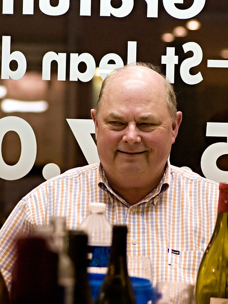 Speaking of buying wine, this is how Bruce Neyers looks when you are buying wine.