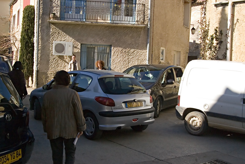 Speaking of three vans, sometimes that is all it takes to create a traffic jam in a small, French village.