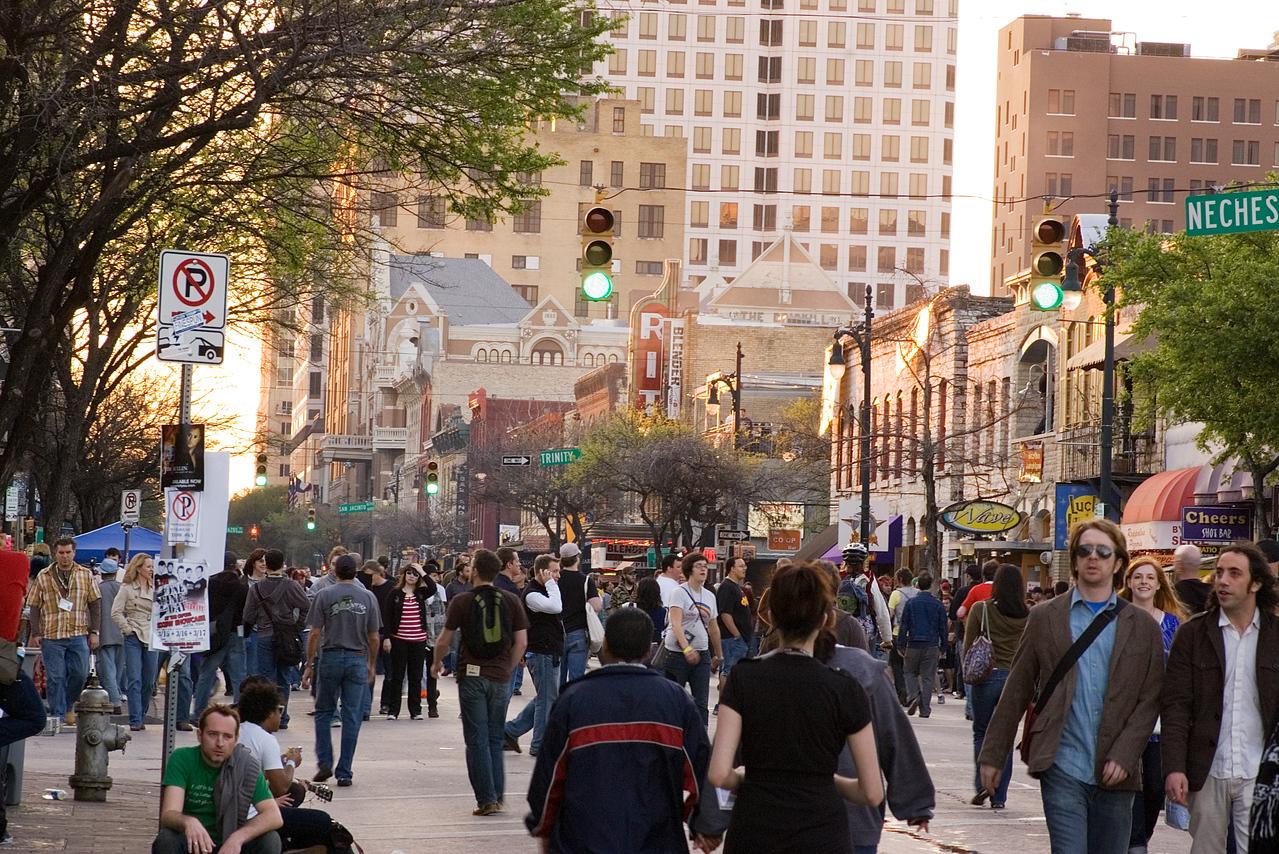 South by Southwest by Daylight, Austin, TX 2007