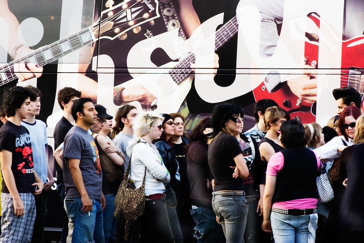 SXSW: Waiting in Line