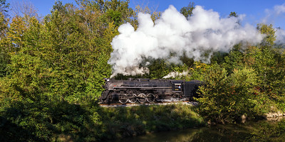 Nickel Plate Road 2-8-4 Berkshire No. 765 Cuyahoga Valley National Park, Ohio