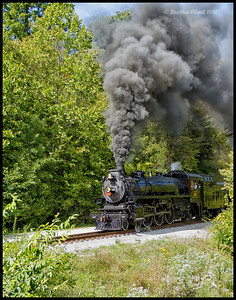 CP 1293-Ex Canadian Pacific 4-6-2 No. 1293Brecksville Reservation, Ohio