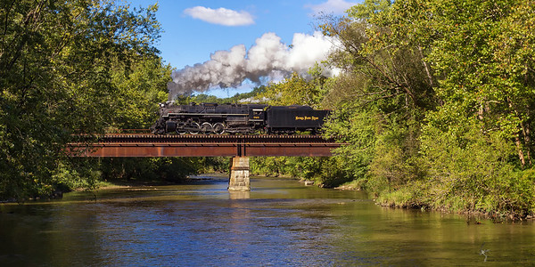 Nickel Plate Road 2-8-4 Berkshire No. 765 Cuyahoga Valley National Park, Ohio