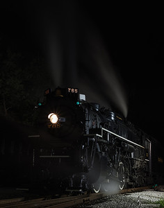 Nickel Plate Road 2-8-4 Berkshire No. 765 Fitzwater Maintence Yard, Ohio