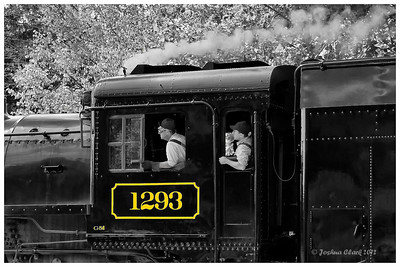 CP 1293-Ex Canadian Pacific 4-6-2 No. 1293Brecksville Reservation, Ohio