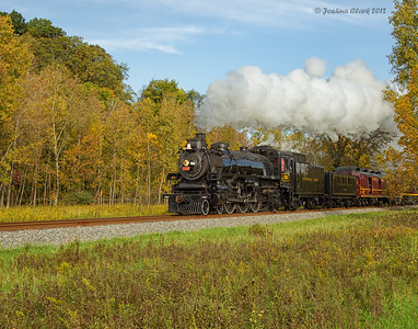 CP 1293-Ex Canadian Pacific 4-6-2 No. 1293Cuyahoga Valley National Park, Ohio